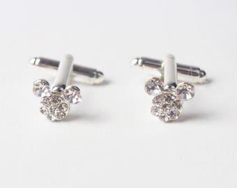 Hexahedron Cufflinks for Groom Plane Party Supplies Minimalism Wedding Bridegroom CuffLinks Silver Cube Cuff Links Gifts for Groomsmen