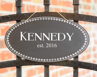 Rustic Wedding Signs, Custom Wood Signs with Last Name for Wedding Gift, Personalized Rustic Sign for Housewarming Gift, Front Door Signs