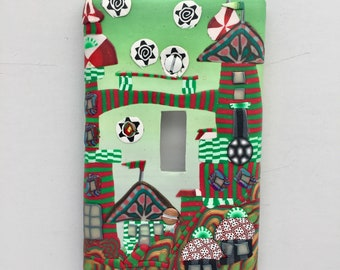 Christmas Town Switchplate for the Person Who Has Everything