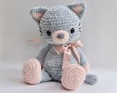 Amigurumi Crochet Pattern -Luna the Kitty
