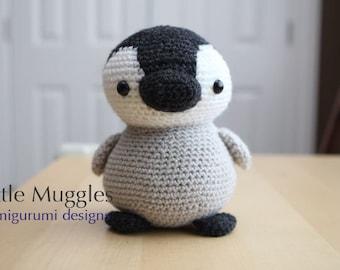 Amigurumi Crochet Pattern - Pippin the Penguin