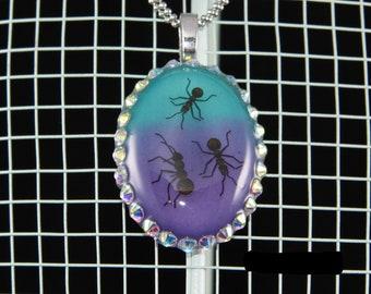 Glow in the Dark Ant Pendant