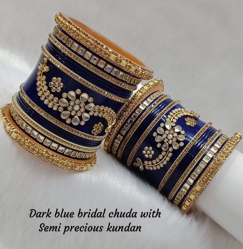 Bridal Bangles Set  Ethnic Indian Jewelry