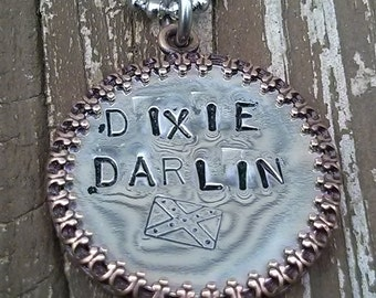 Dixie Darlin Token Necklace