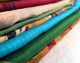 Fabric Grab Bag- 10 assorted Fabric scraps for Quilting, crafts (Lot 3)