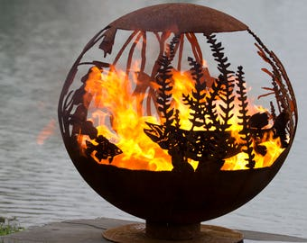 Melissa Crisp S Artisan Fire Pit Spheres By Thefirepitgallery