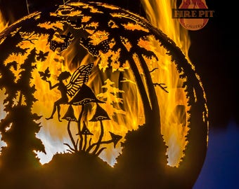 Enchanted Woods - Fairy Fire Pit Sphere