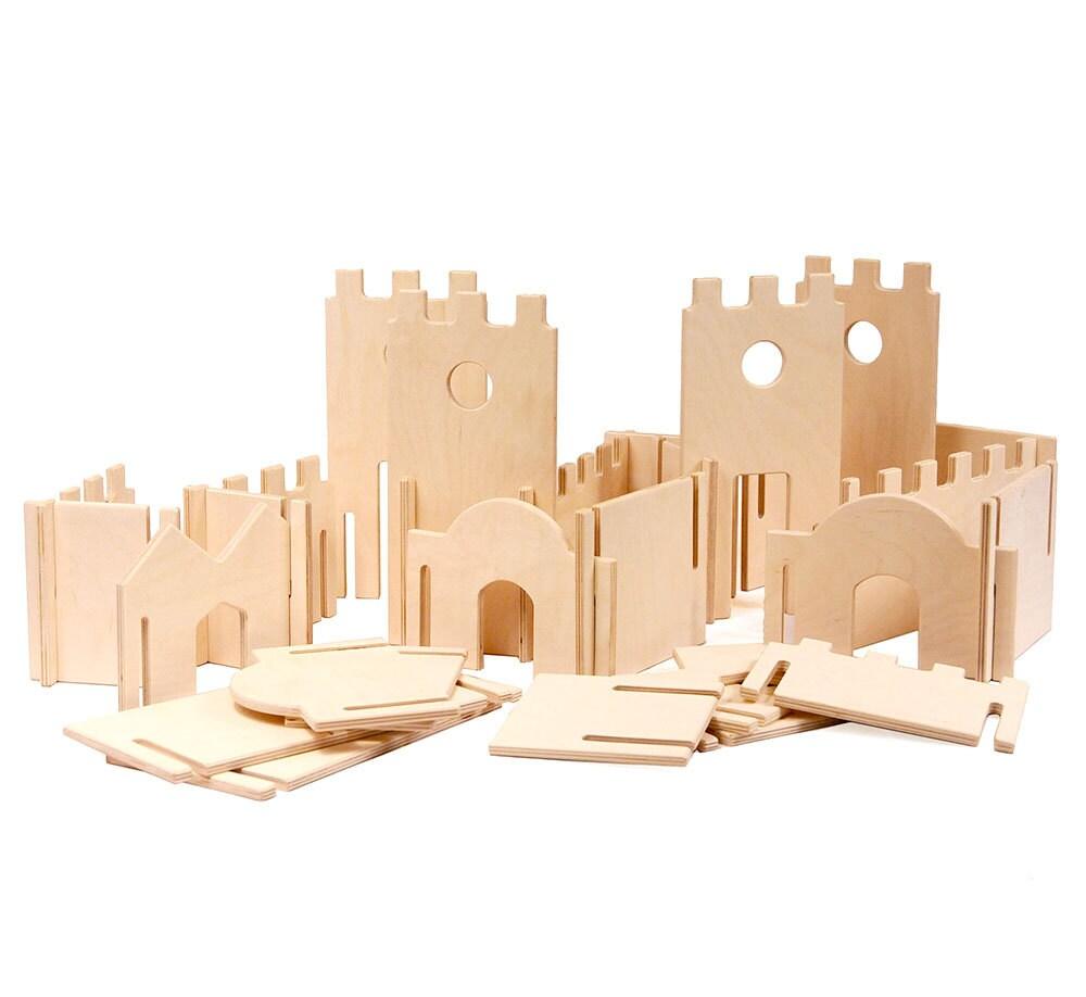 Modular Building Walls Manzanita Kids Classic Deluxe Wood