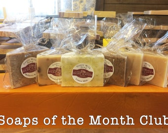 Soaps of the Month Club (2 soaps for 12 months)