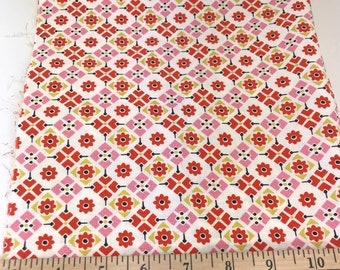 Red, Pink, Geometric, Picnic and Fairgrounds, DS Quilts Collections by Denyse Schmidt for Fabric Traditions, 18 Inches