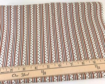 Brown, Black, Dot, Stripe, Katie Jump Rope, Denyse Schmidt, Free Spirit Fabrics, 32 Inches