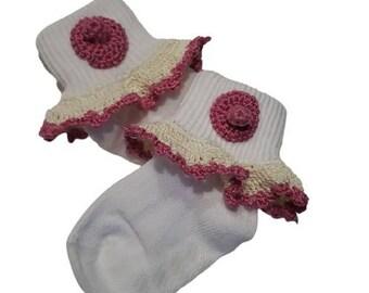 Boob Breast Chest Lactation Nursing Baby Socks