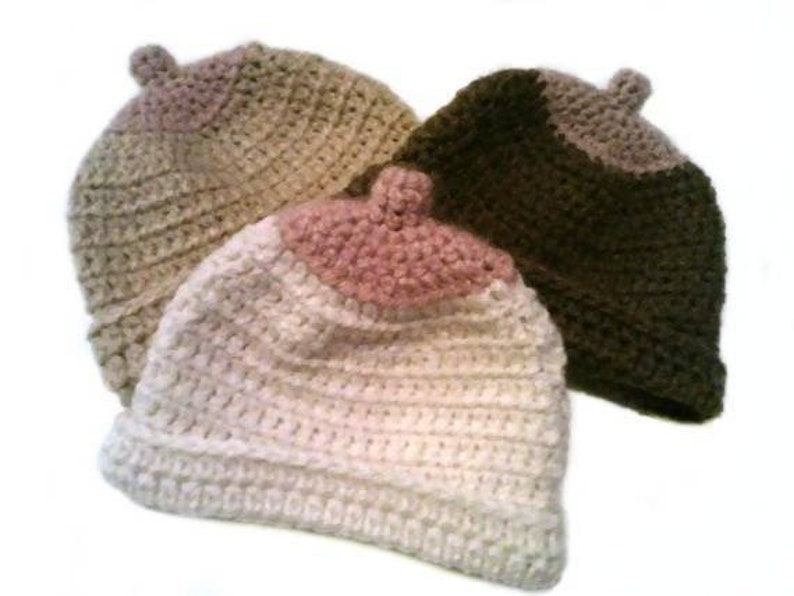 HANDMADE IN UK Crochet Breastfeeding Boob Hat All sizes Photo Prop Baby Shower
