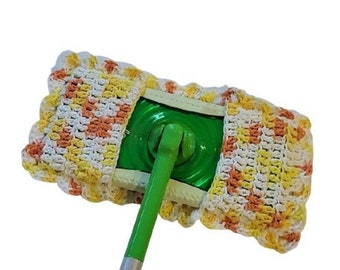 Reuseable Cotton Kitchen Mop Cover Fall Kitchen Handmade
