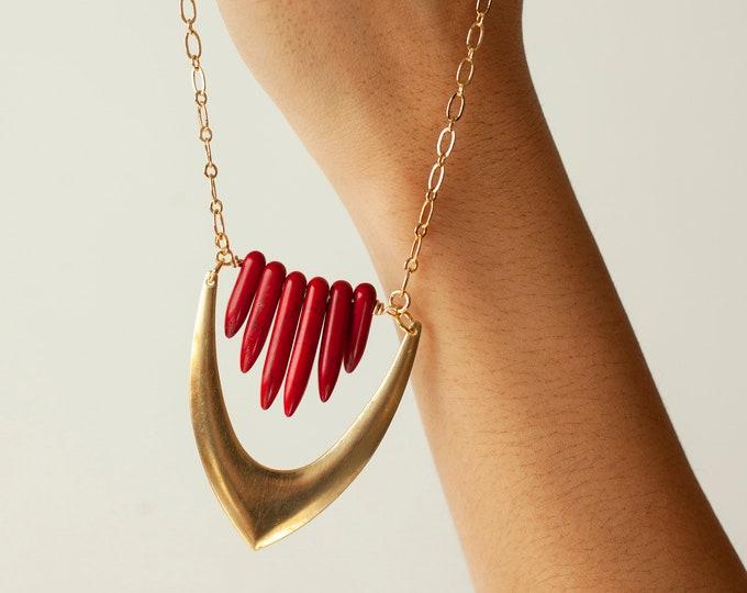 Featured listing image: Spike Vintage Pendant