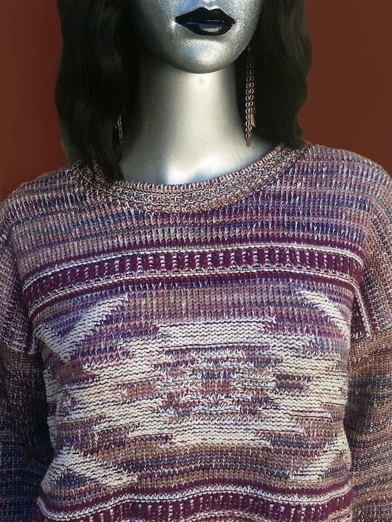 Cottagecore vintage cropped sweater! - image 5