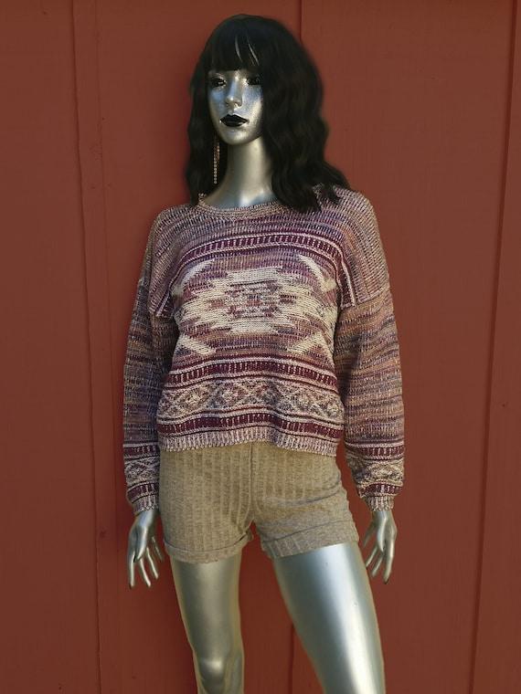 Cottagecore vintage cropped sweater! - image 3