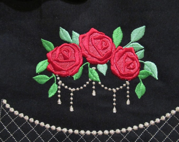 Accent flowers, machine embroidery designs, assorted sizes , beautiful roses, rose embroidery, rose designs