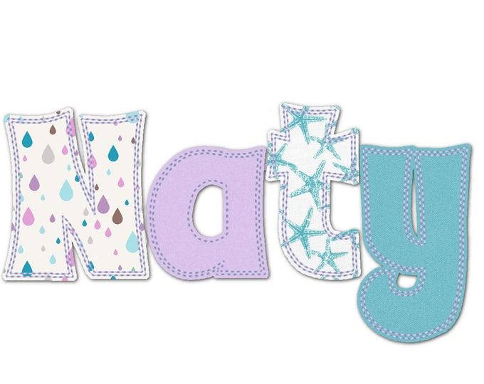 BX included! Free Edge Raggedy Applique Alphabet Font machine embroidery designs assorted sizes 1.5, 2, 3 up to 4.5  Uppercase, lowercase
