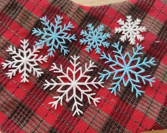 Delicate Mini and micro snowflake Freestanding lace embroidery designs, assorted sizes,  FSL, Free standing embroidery design
