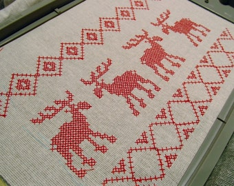 Cross stitch Christmas separate motifs - machine embroidery cross stitch designs  INSTANT DOWNLOAD