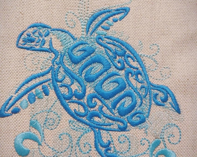 Unique and awesome Turtle  tribal machine embroidery designs assorted sizes for hoops 4x4, 5x7