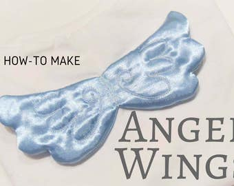 Baby angel magic wings, great for princess tutu theme, machine embroidery project designs  In the hoop embroidery asorted sizes INSTANT