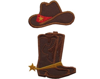 9f12695642f Cowboy or cowgirl MINI single designs - add-ons - machine embroidery  applique designs - 2