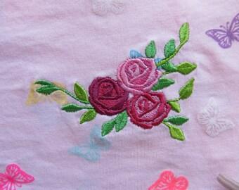 Accent mini flowers, machine embroidery designs, Big set assorted sizes, mini beautiful roses, rose embroidery, Rose embroidery accent