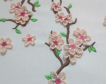 Cherry blossom awesome in the hoop FSL mixed - machine embroidery designs - ITH project - in-the-hoop - machine embroidery project - big set