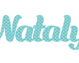 Scallops font, Scalloped Mermaid Monogram FONT alphabet letters Embroidery designs awesome mermaid tail embroidery font machine embroidery