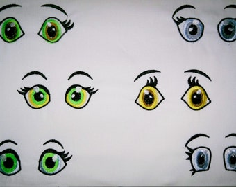Eyes collection - for hoop 4x4 - INSTANT DOWNLOAD