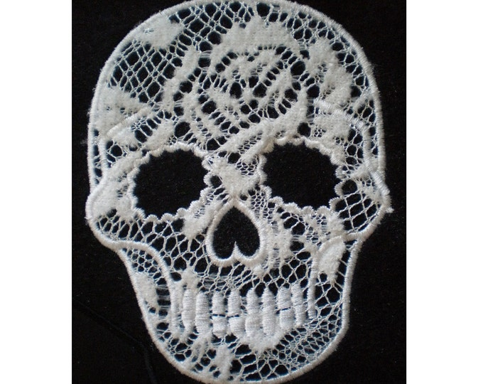 Day of the Dead Skull, Calavera - embroidery applique design, file INSTANT DOWNLOAD - 4x4, 5x7 and 6x10