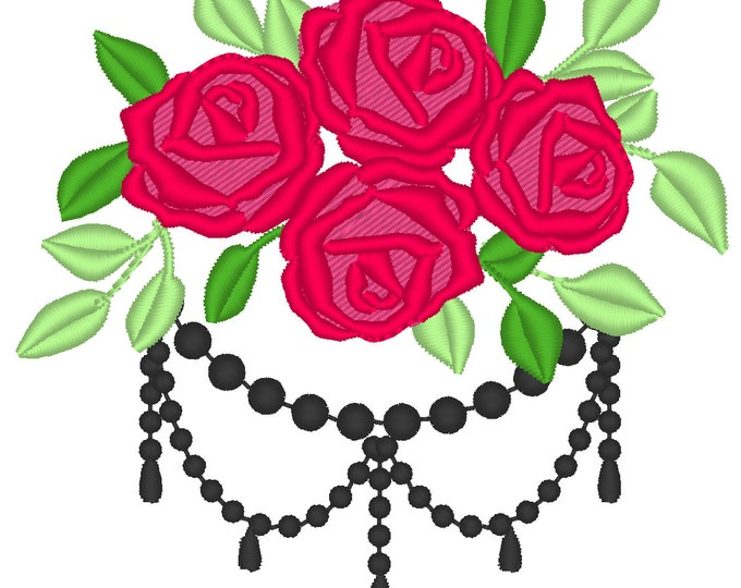 Accent flowers, machine embroidery designs, assorted sizes  sizes, beautiful roses, rose embroidery, rose designs