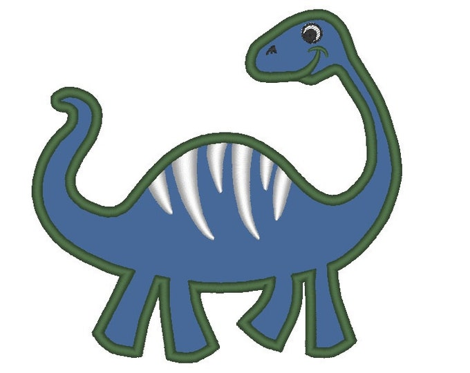 Dinosaur - machine embroidery applique designs, instant download - for hoop 4x4, 5x7, 6x10