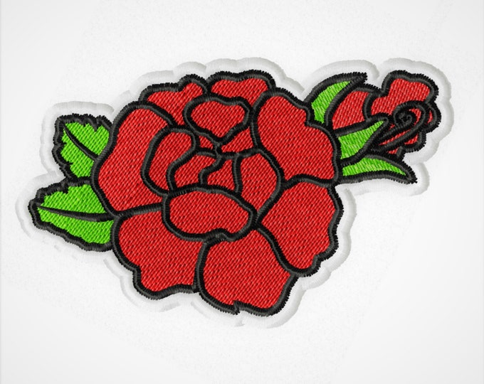 Day of the Dead Día de Muertos Rose patch Skull calavera machine embroidery cute patch applique designs assorted sizes patch designs