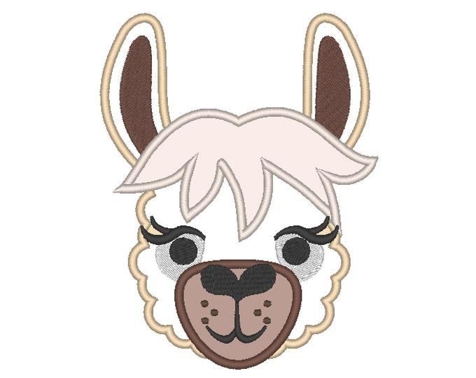 Lama, llama drama, alpaca llama embroidery design, farm animal, farm birthday, llama applique, farm applique, animal embroidery, cowgirl