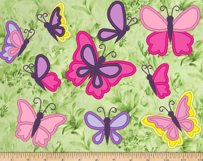 Butterflies big collection, minni sizes, great for t-shirts making as add-on - machine embroidery applique designs, 4x4 INSTANT DOWNLOAD
