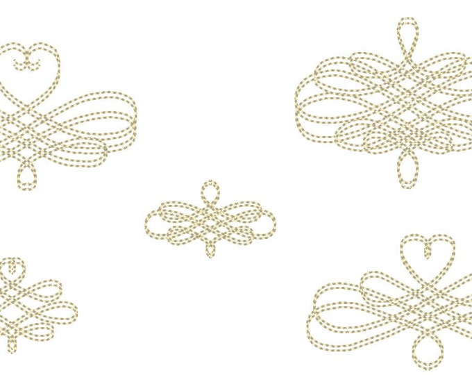 Wedding calligraphy curls, vintage swirl, ornament, damask, font frame  - machine embroidery design - for 4x4, 5x7INSTANT DOWNLOAD