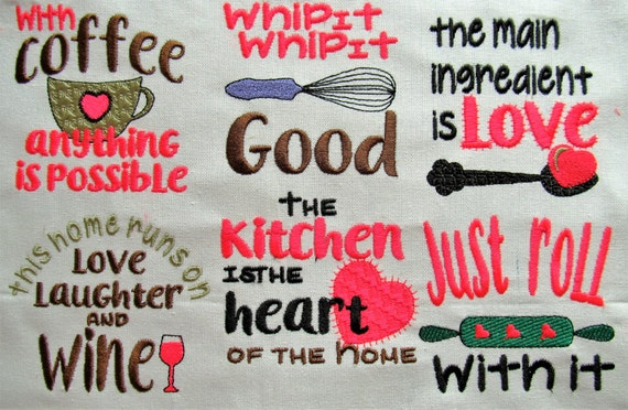 Cooking Quotes Etsy
