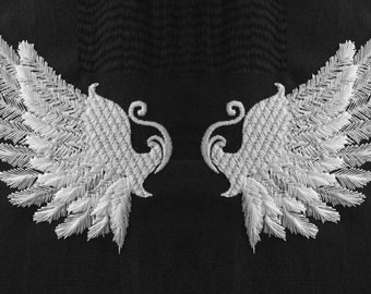 Angel wings -  machine embroidery designs - INSTANT DOWNLOAD