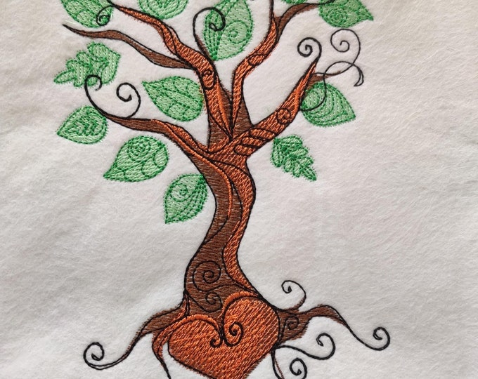 Tree, tree of life, love three, tree drawing, light sketch line machine embroidery design, machine embroidery design outline 5x7 and 6x10