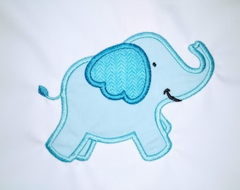 Little happy Elephant machine embroidery applique designs, Machine Embroidery Designs for 4x4, 5x7 elephant boy INSTANT DOWNLOAD