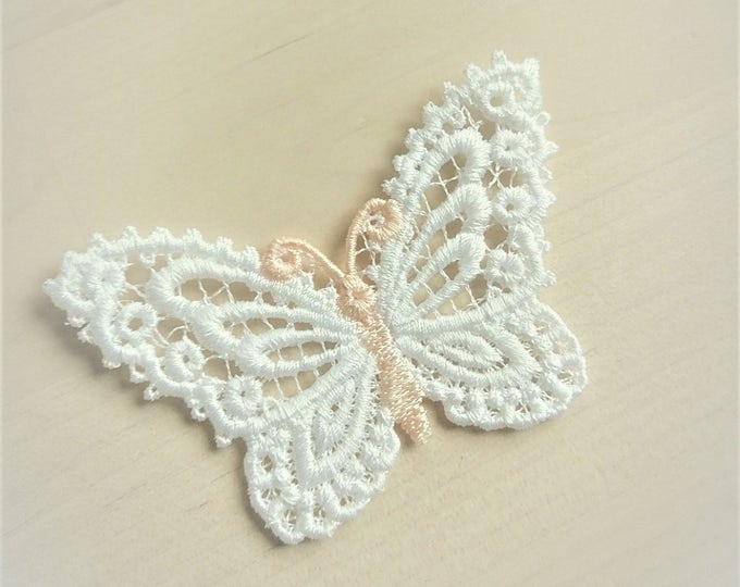 Butterfly Dimensional,  FSL, Free standing lace embroidery design in the hoop ITH embroidery 4x4 assorted sizes MINI project