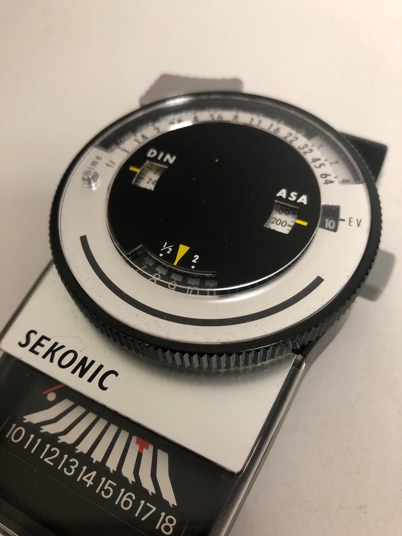 sports shoes 69e38 3fd8a Sekonic Multi-Lumi L-248 Light Meter with box, case, and instructions 1970s