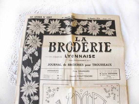 Französisch Vintage Stickerei Muster Zeitschriften. \' La | Etsy