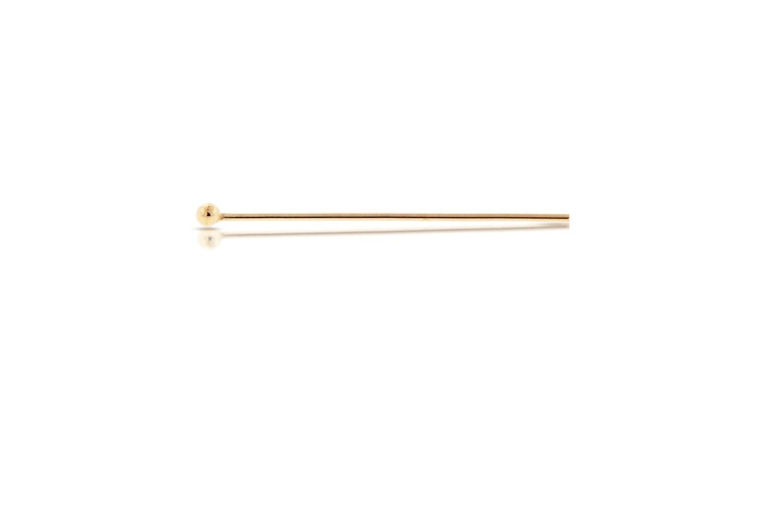 14kt 1 Gold-Filled 24ga 1 14kt pouce boule pins - 500pcs Made in USA 40 % réduit haute qualité brillant (2172) / 25 cc7039