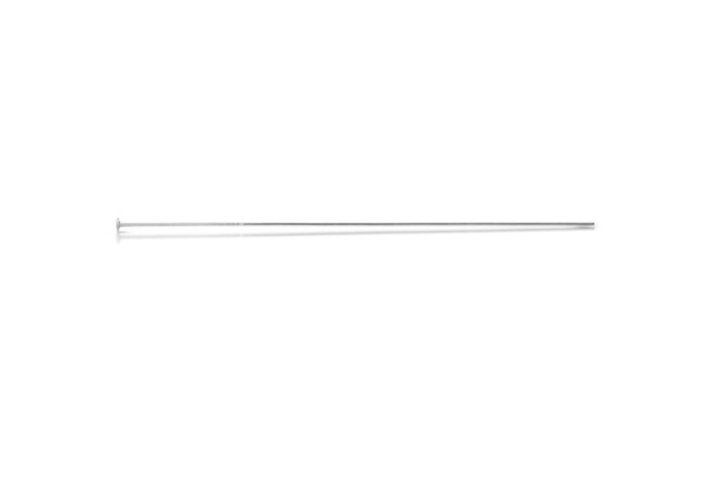 2101 NEW /& IMPROVED 1 20pcs  Wholesale 10/% discounted price Sterling Silver 24ga 1.5 Inch Headpins
