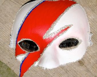 Aladdin Sane / Ziggy Stardust / Bowie  mask