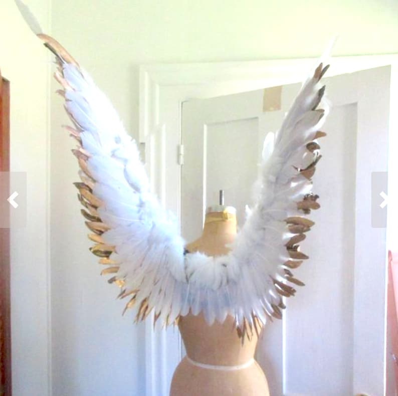 Angel wings Gold / White  FairyBird cosplay image 0